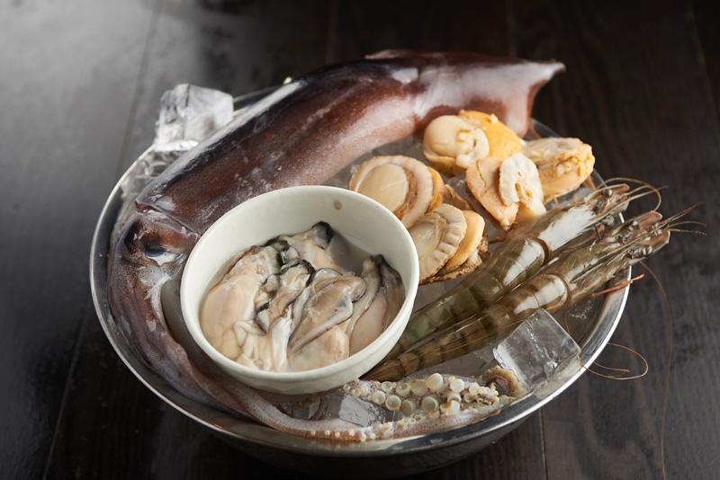 季節のおすすめ食材を使用した料理の数々
